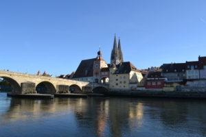 Altstadtblick auf Regensburg